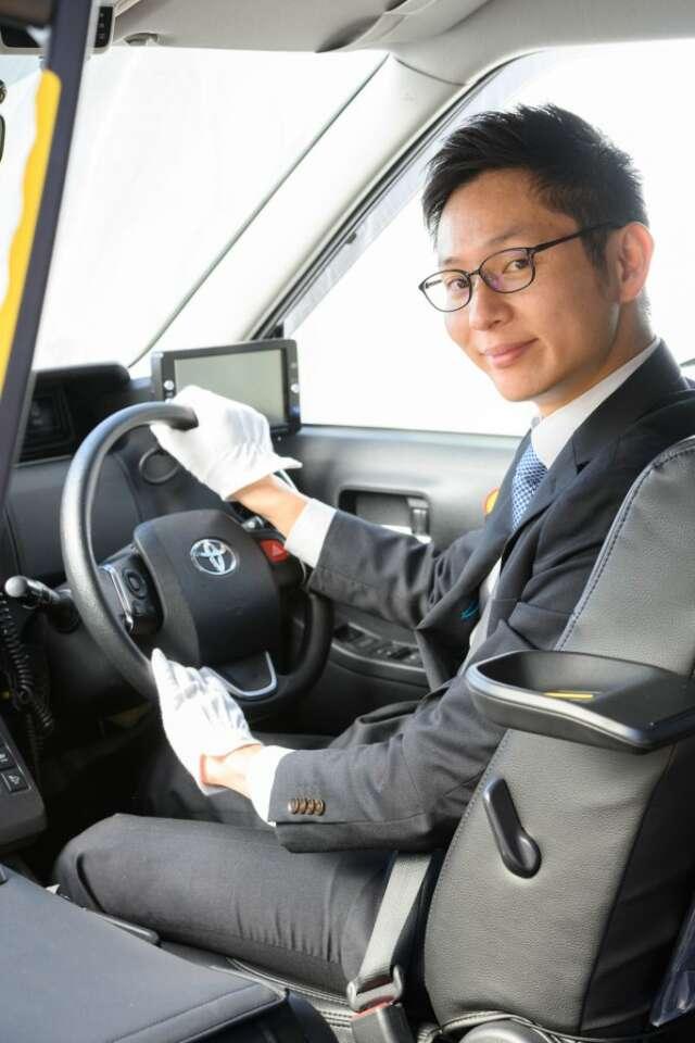 タクシードライバーに必要な接客力